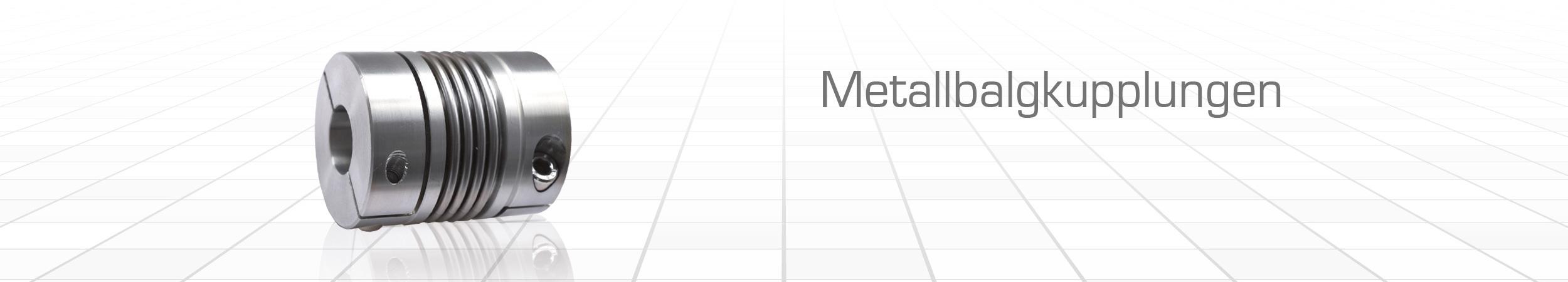 Metallbalgkupplungen